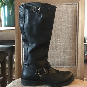 Frye Veronica Slouch Black Boot